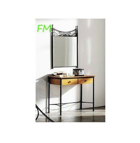 Cómoda y espejo Milán: Catálogo de muebles de forja de Forja Manuel Jiménez