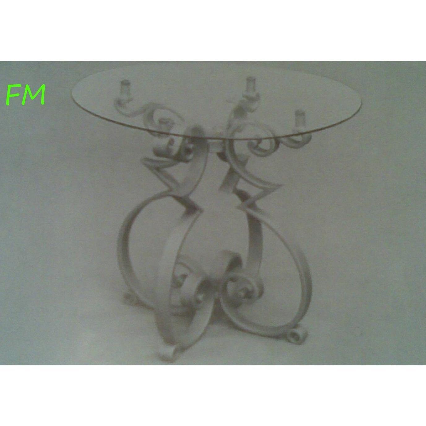 Mesa Moriles: Catálogo de muebles de forja de Forja Manuel Jiménez