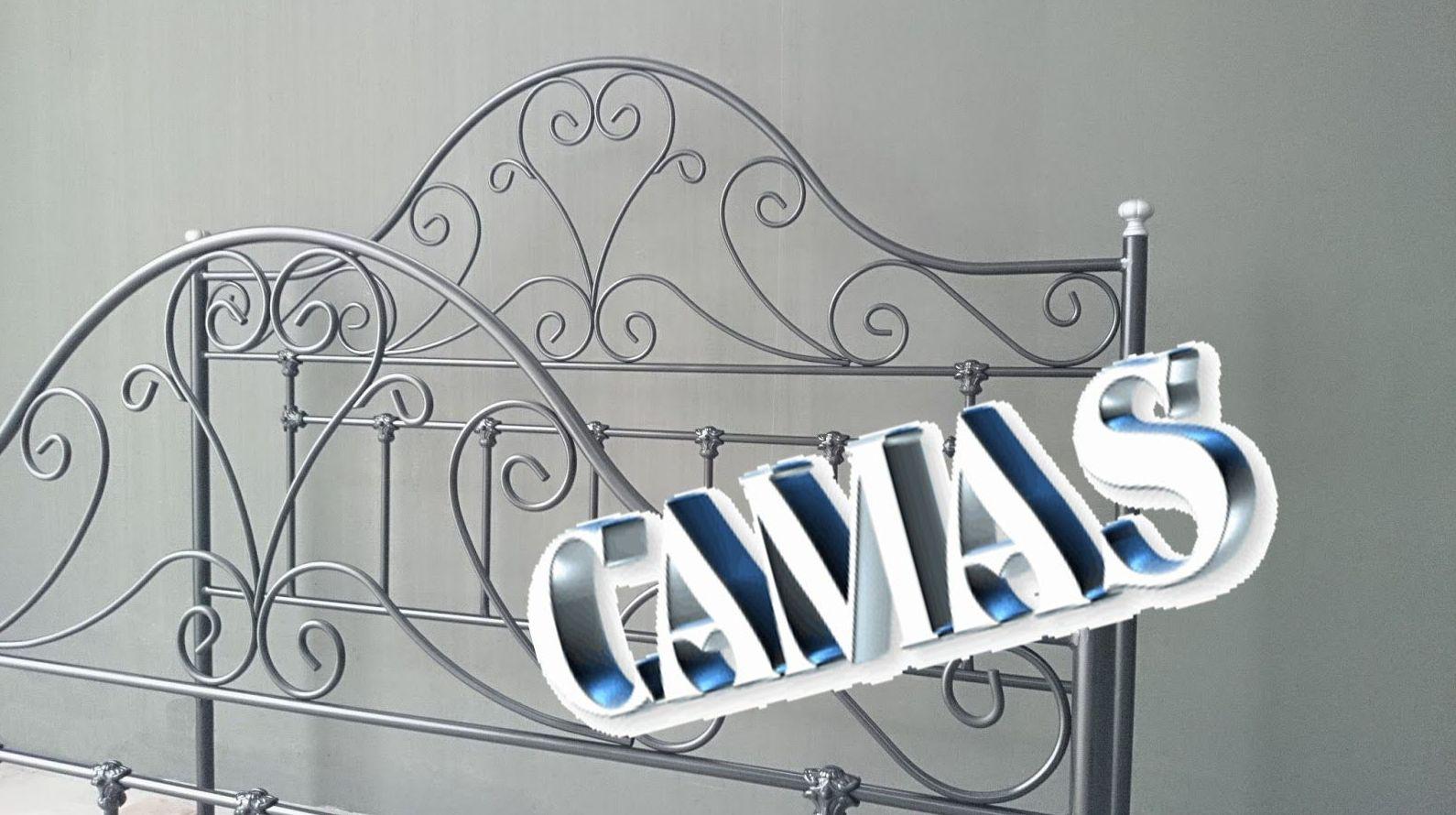 CAMAS ENTERAS: Catálogo de muebles de forja de Forja Manuel Jiménez