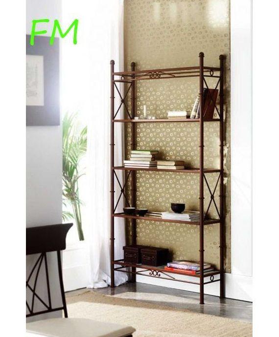Estantería Atenas: Catálogo de muebles de forja de Forja Manuel Jiménez