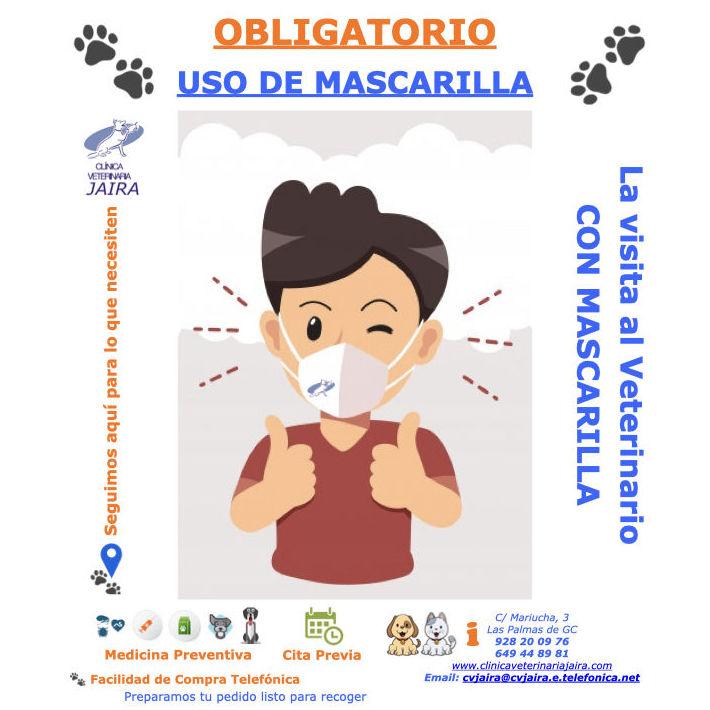 La Visita al Veterinario CON MASCARILLA  - USO OBLIGATORIO DE MASCARILLA