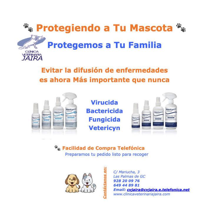 Evita la Difusión de Enfermedades con un Virucida, Bactericida & Fungicida