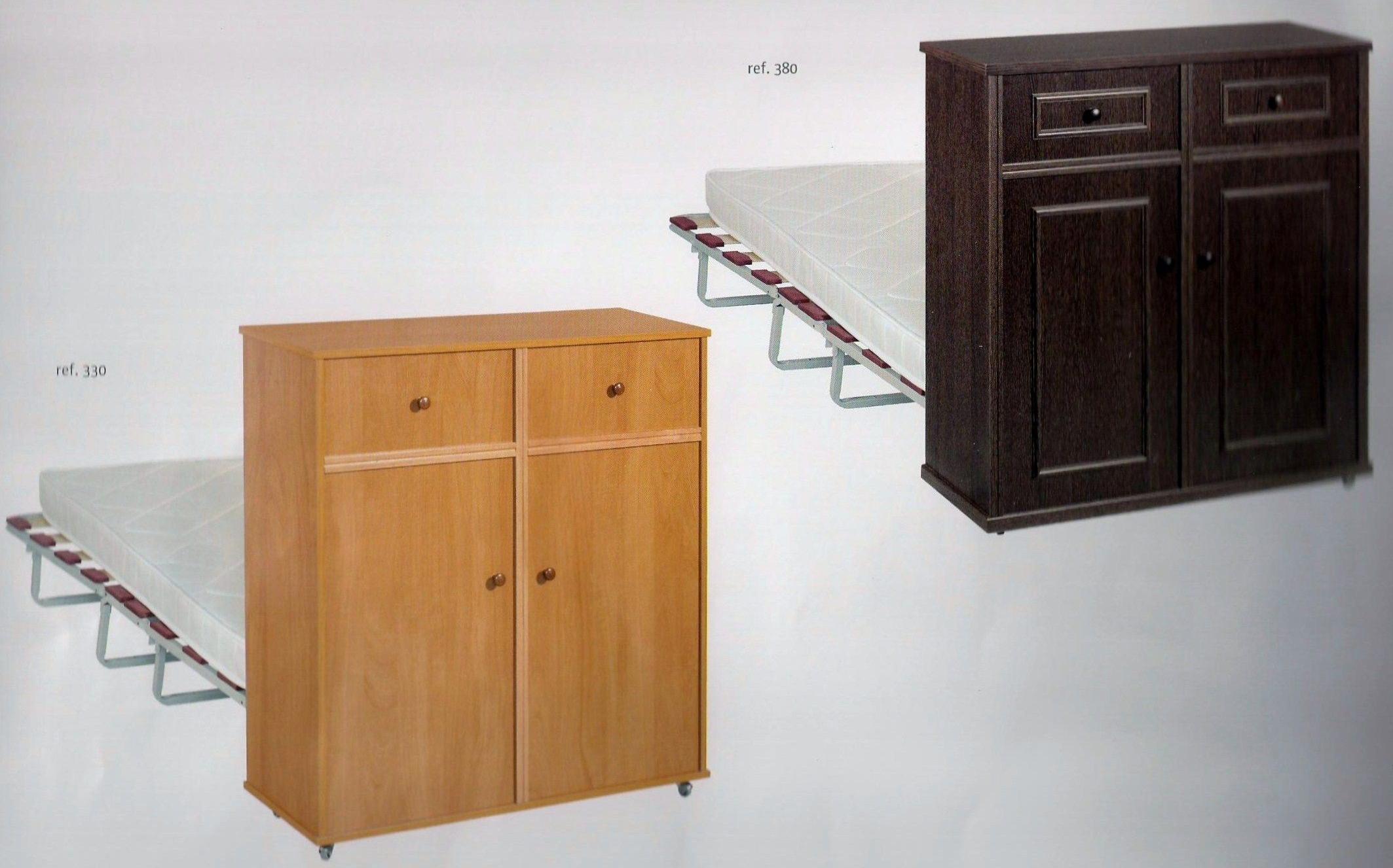 Cama mueble plegable colchones y de for Mueble cama plegable