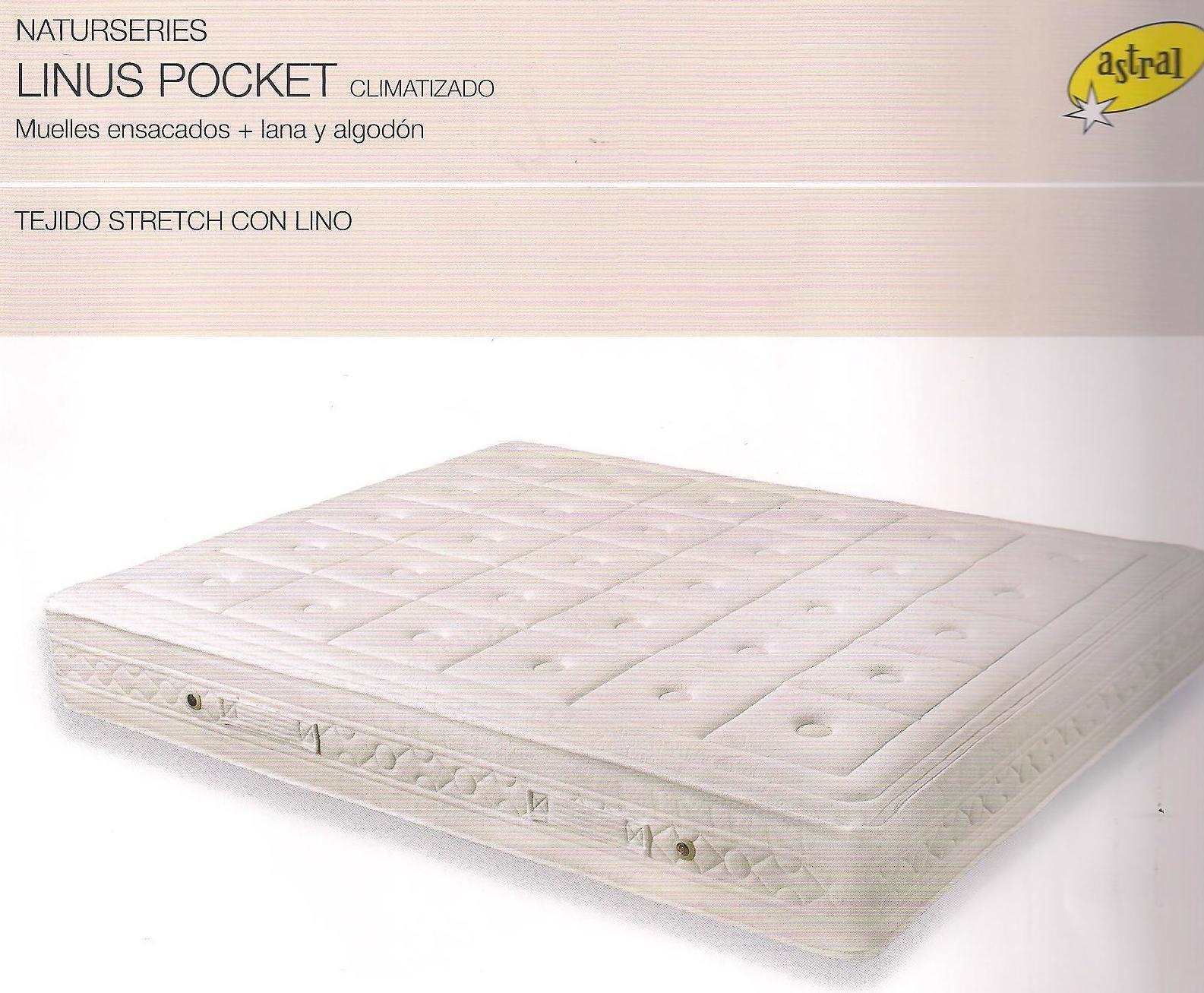 Colchon  ASTRAL  LINUS POCKET : Colchones Y ...... de Colchonería Moderna