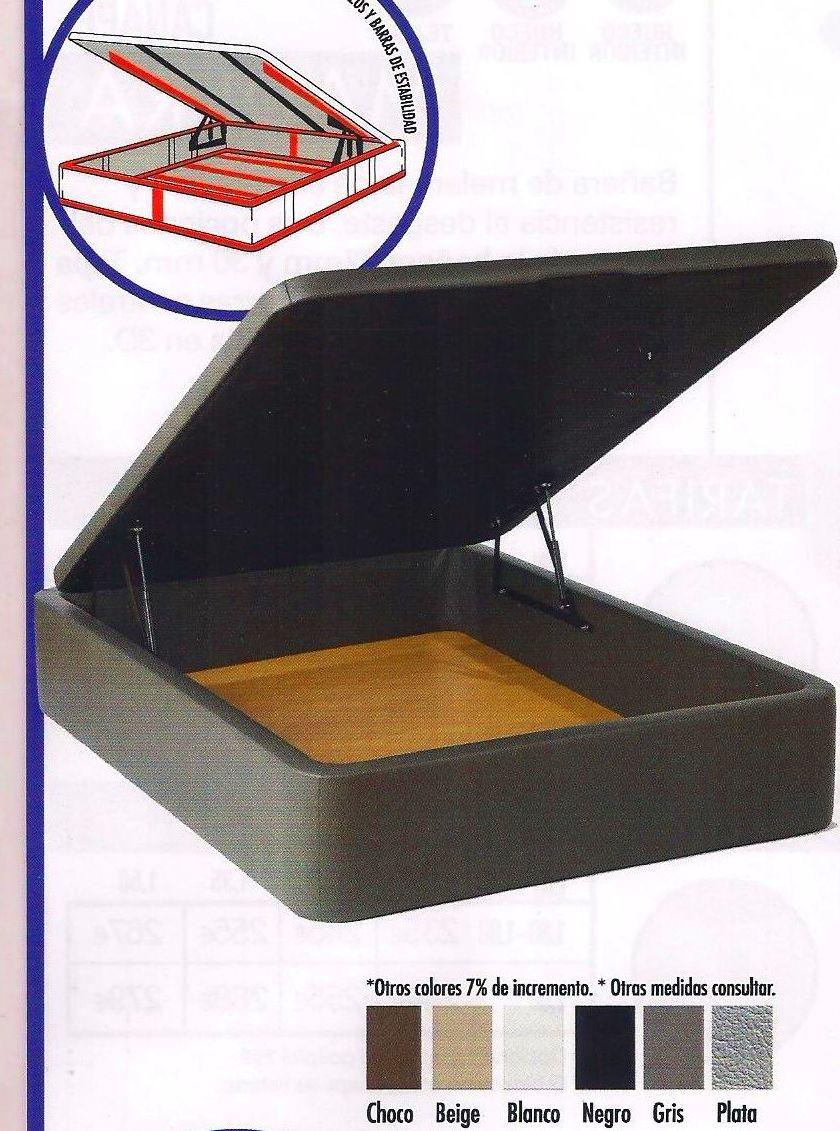 Canape Polipiel  REFORZADO Gran Box: Colchones Y ...... de Colchonería Moderna