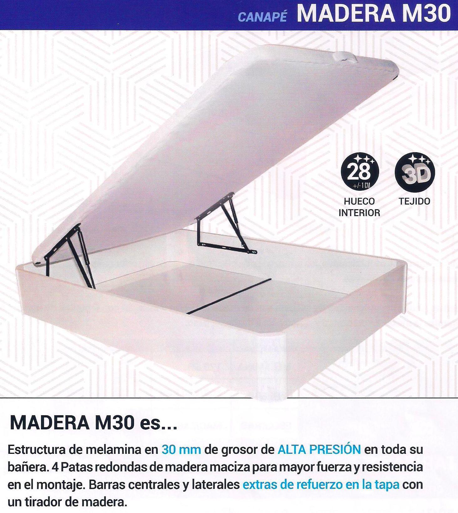Canape Madera M30