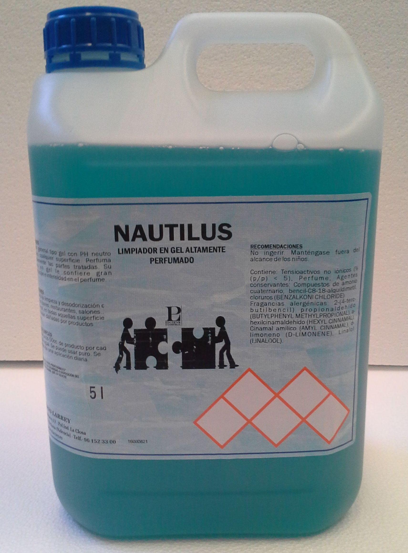 NAUTILUS (Limpiador higienizante  muy perfumado)