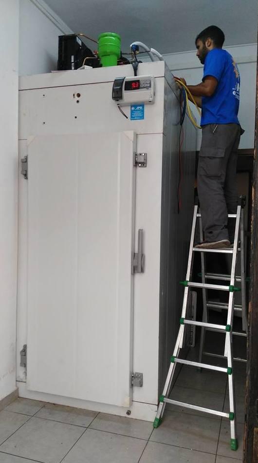 Reparación de cámaras frigoríficas