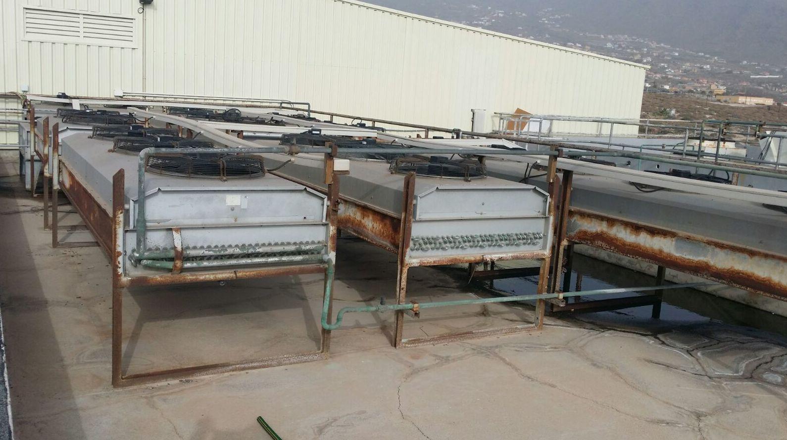 Reparación de centrales de frío en Tenerife