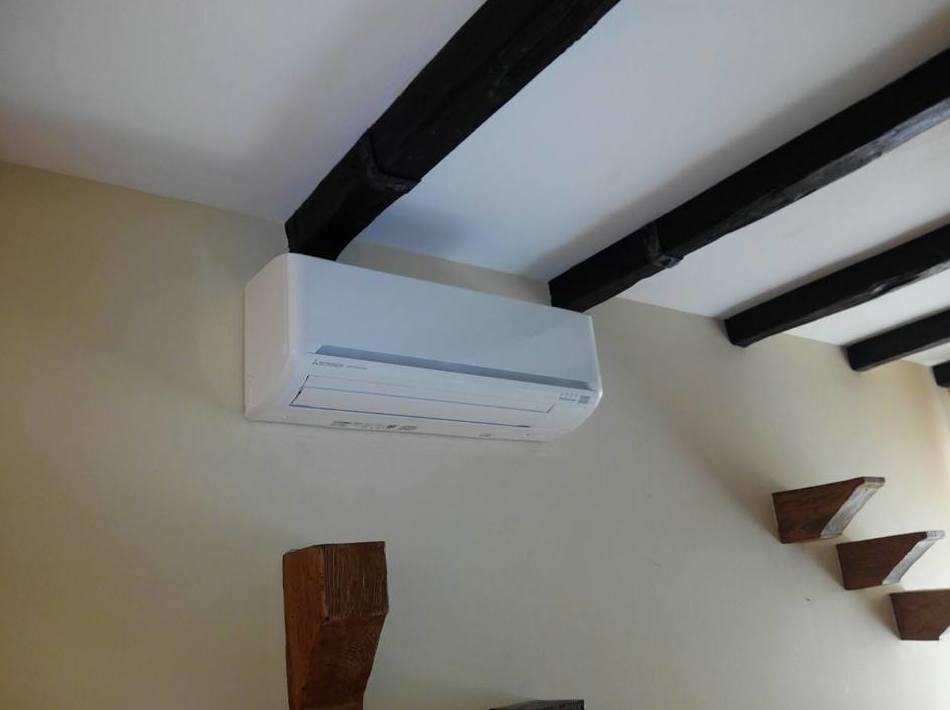Instalación de aire acondicionado en viviendas