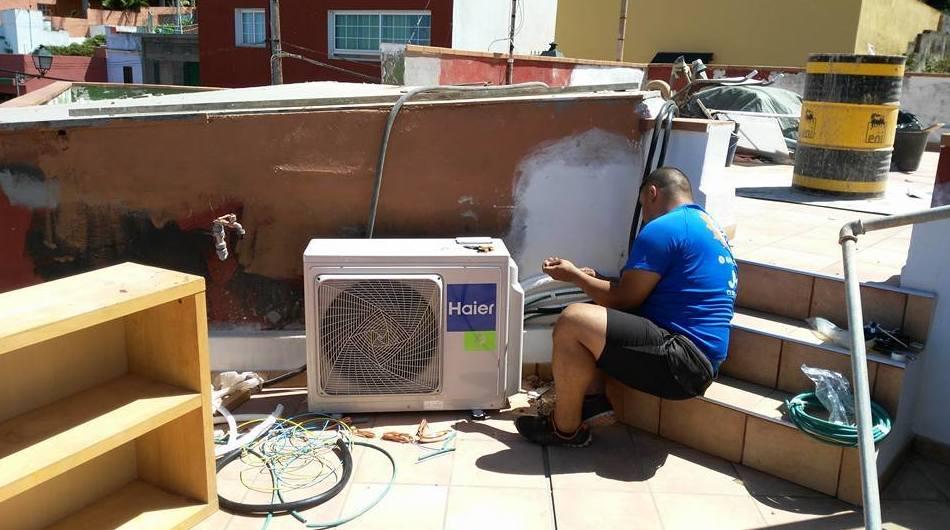 Reparación de aire acondicionado en Tenerife