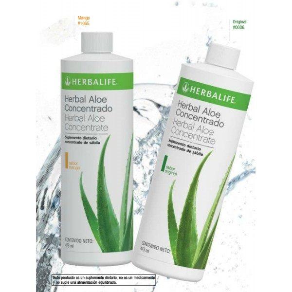 Bebida de concentrado herbal aloe: Productos de Herbalife Nerea