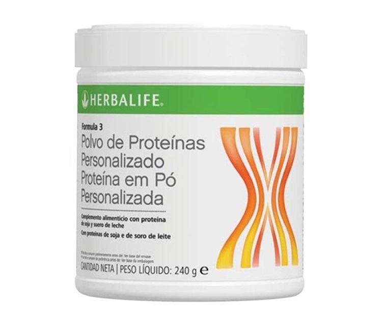 Polvo de proteínas personalizado