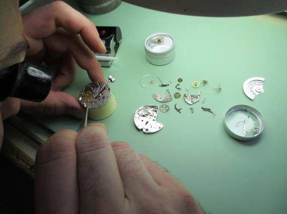 reparación de relojes en Madrid