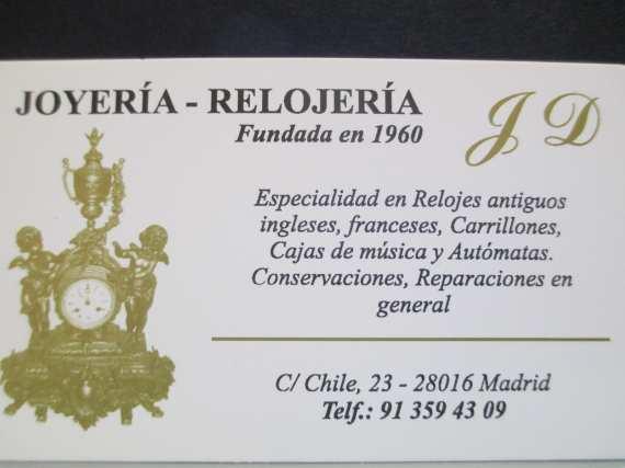 Foto 11 de Relojería en Madrid | Relojería Joyería Chile 23