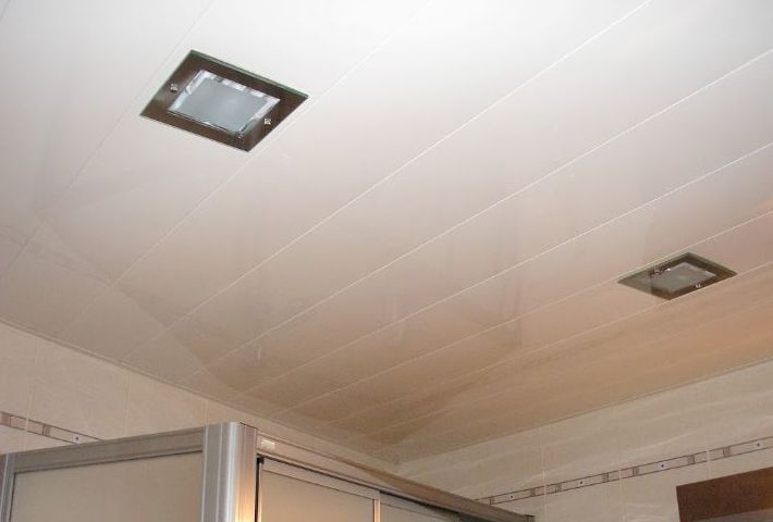 Falso techo aluminio
