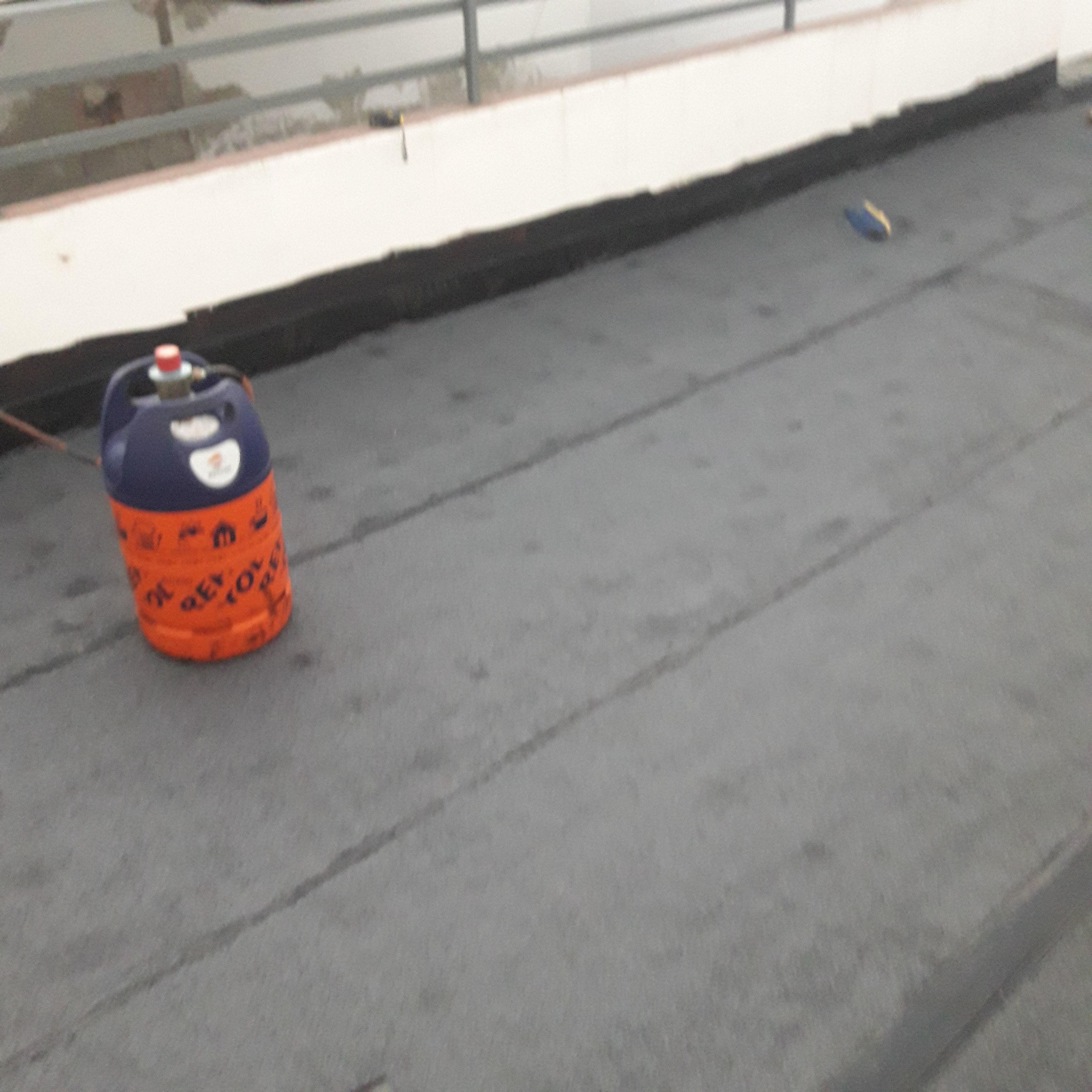 Impermeabilizacion tela asfaltica en terraza