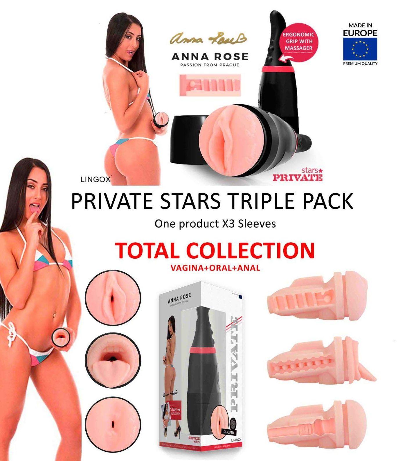 PRIVATE ANNA ROSE TRIPLE PACK: CATALOGO DE PRODUCTOS de SEX MIL 1