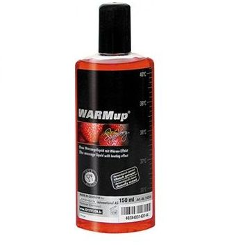 ACEITE WARM UP FRESA 150 ML.: CATALOGO DE PRODUCTOS de SEX MIL 1