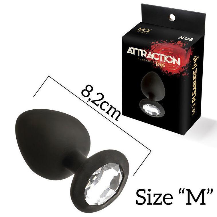 PLUG ATTRACTION Nº48 M NEGRO :  de SEX MIL 1
