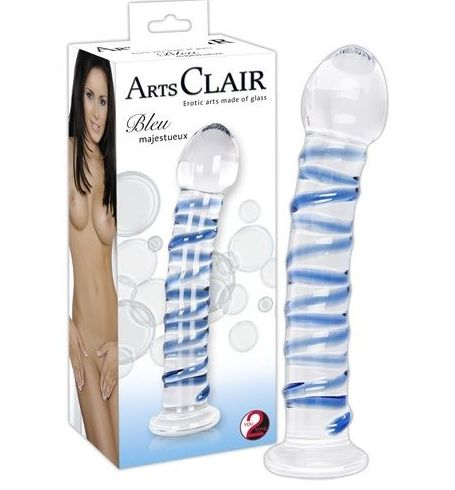 DILDO CRISTAL ARTS CLAIR:  de SEX MIL 1