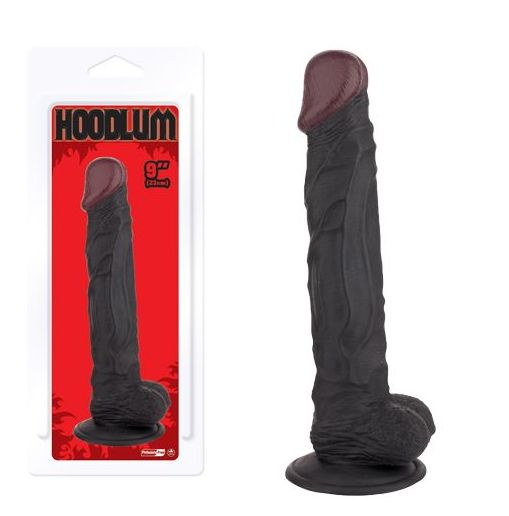 DILDO HOODLUM NEGRO 23 CM.:  de SEXMIL 1