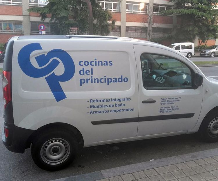Rotulación personalizada de vehículos en Asturias
