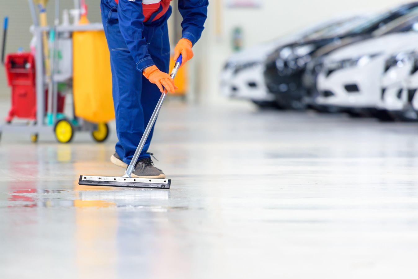 Limpieza de garajes en Logroño