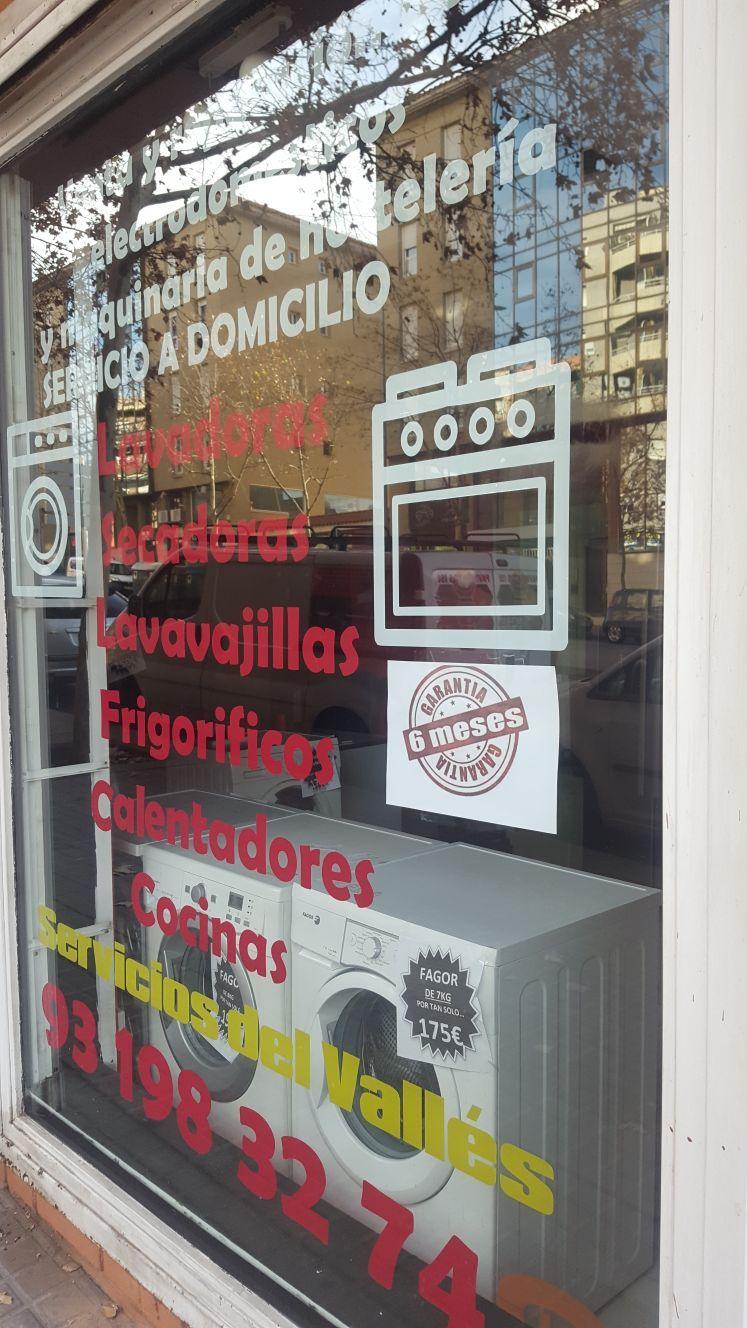 Tienda especializada en electrodomésticos en Barcelona