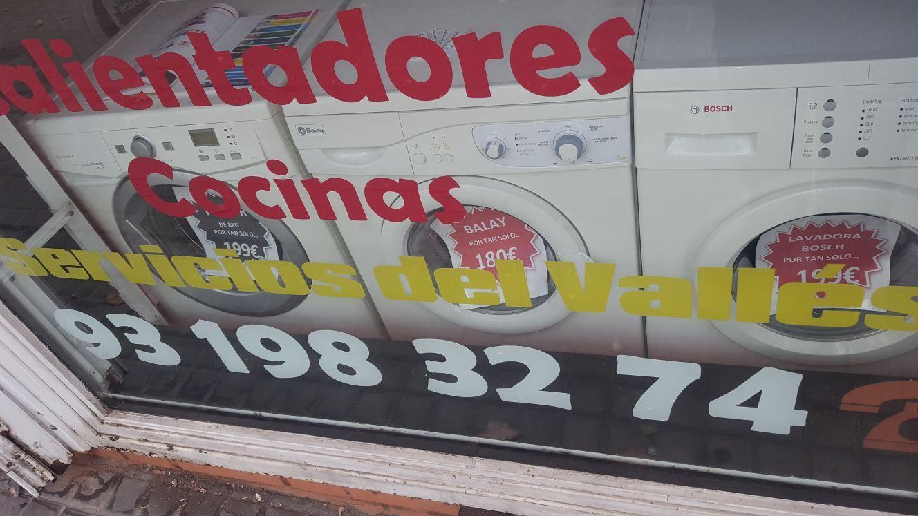 Tienda de electrodomésticos en Sabadell