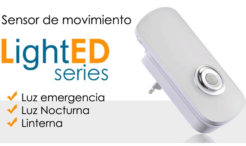 """Les presentamos nuestro nuevo """"Sensor de Moviento con LUZ LED """"."""