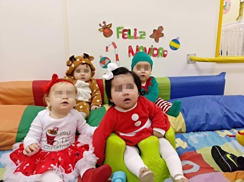 FIESTA NAVIDAD '18 EN LA ESCUELA INFANTIL BILINGÜE CENTRO VIDA