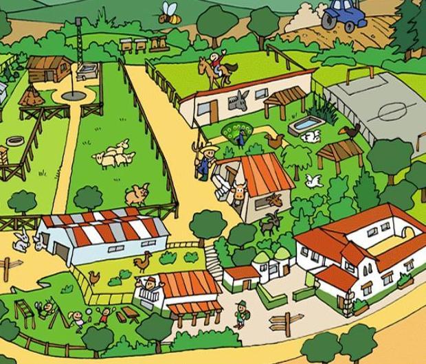 La escuela infantil Centro Vida visita la granja