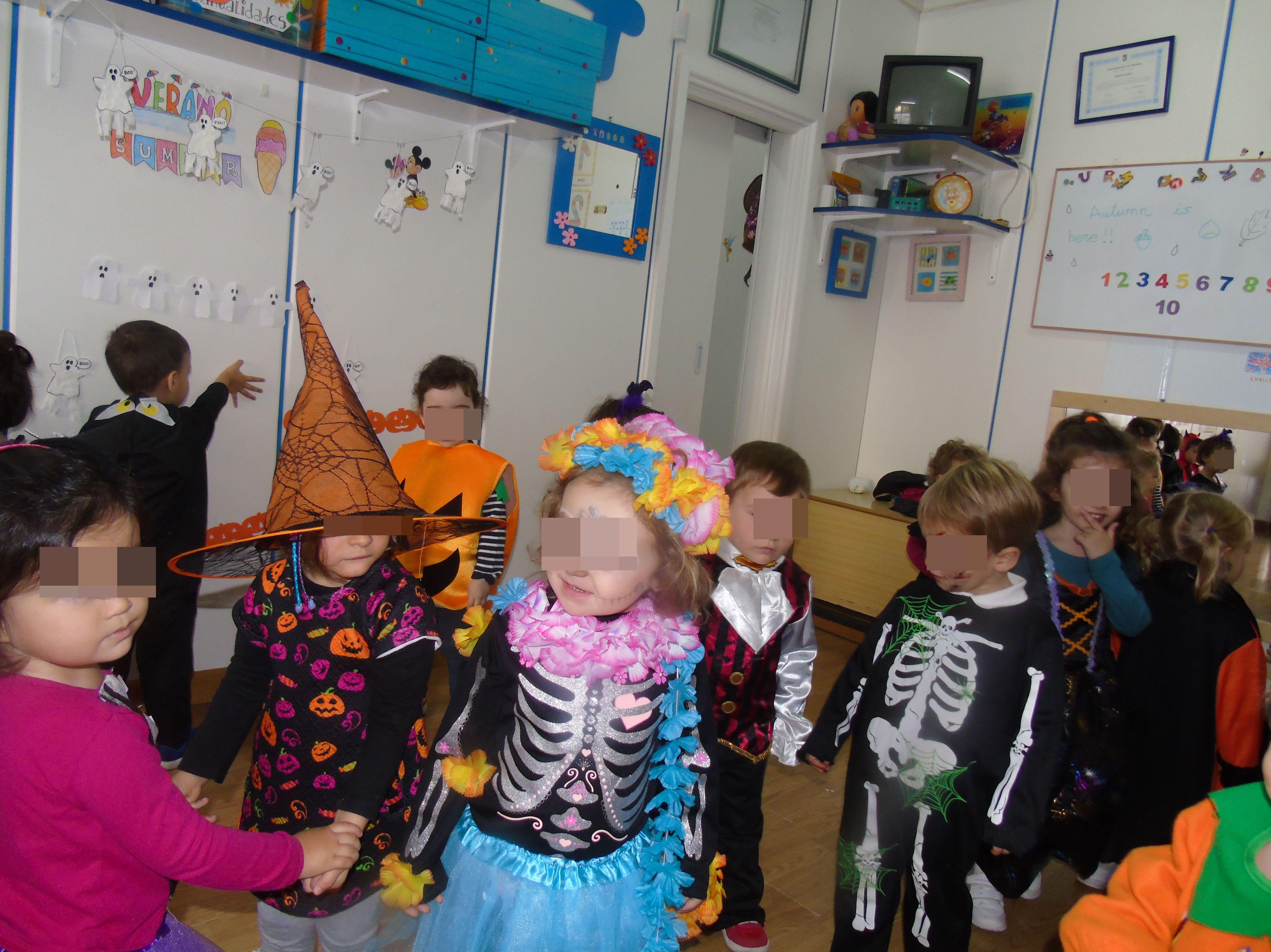 HAPPY HALLOWEEN de parte de la Escuela Infantil Centro Vida de Moratalaz