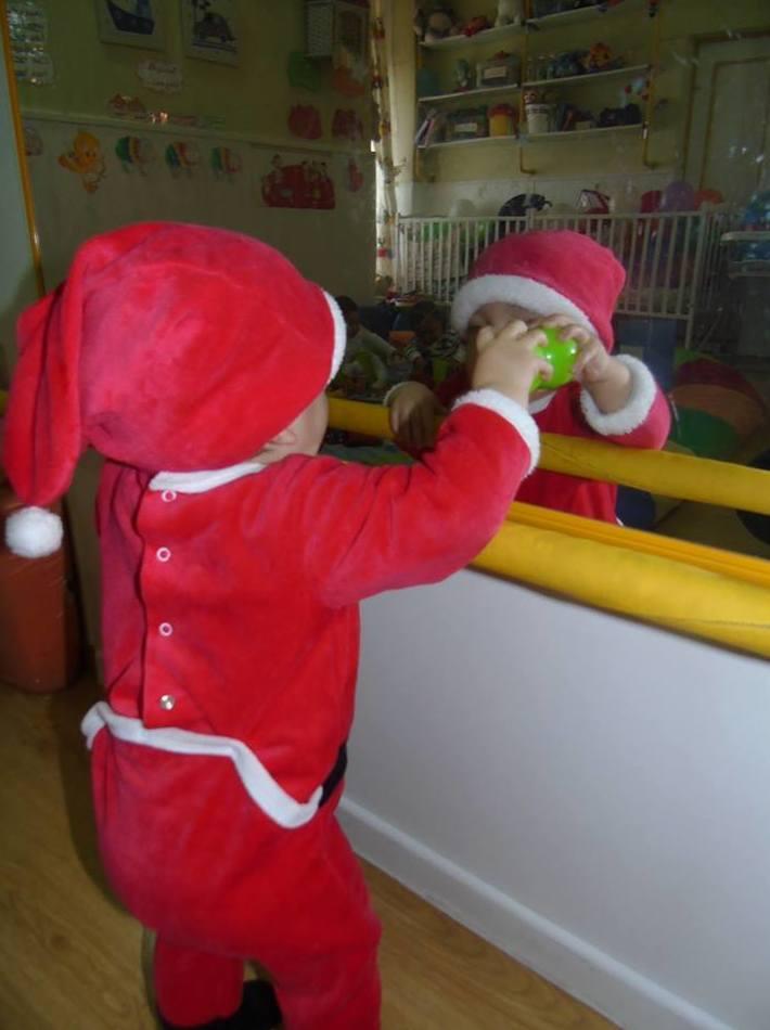 Que precioso Papa Noel nos ha vistado ;-)))