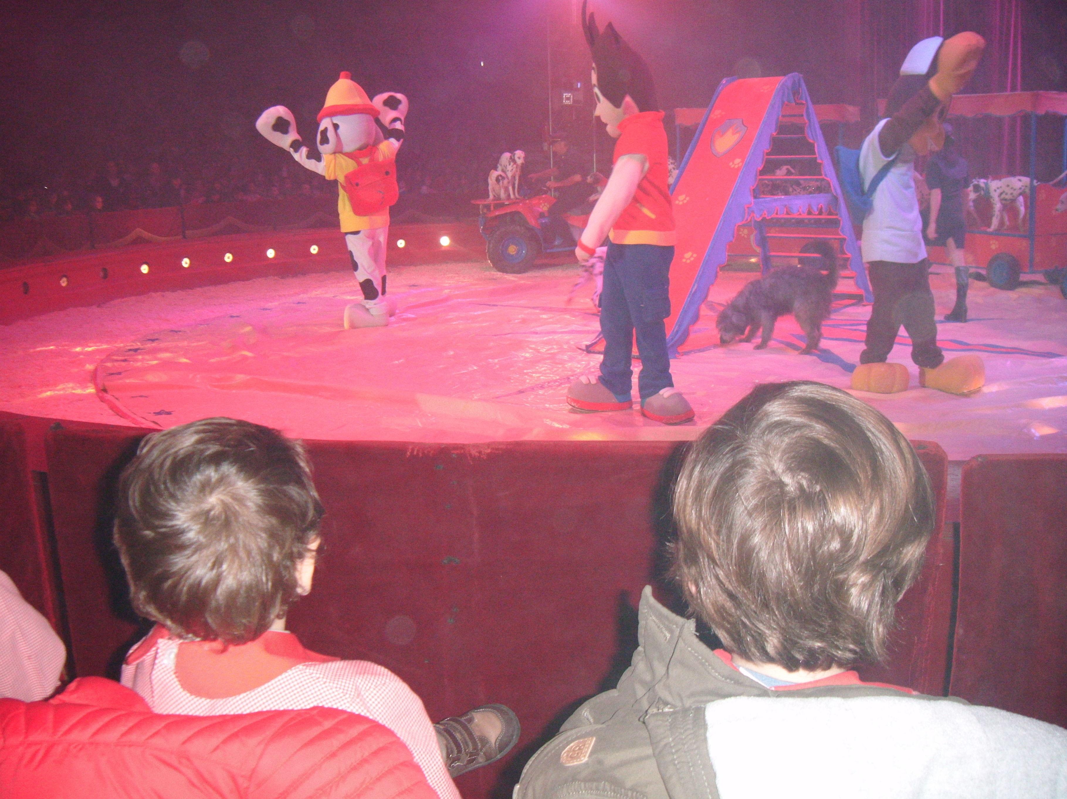 Fuimos al circo Mundial ¡qué gran día!
