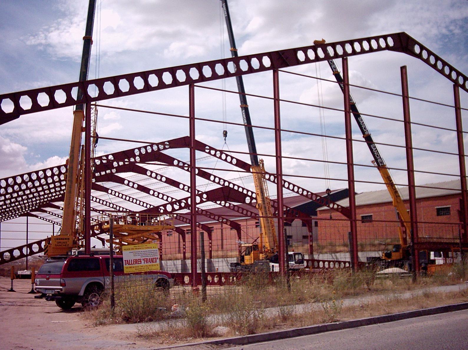 Foto 34 de Construcciones metálicas en Medina del Campo | Talleres Franco Cobos