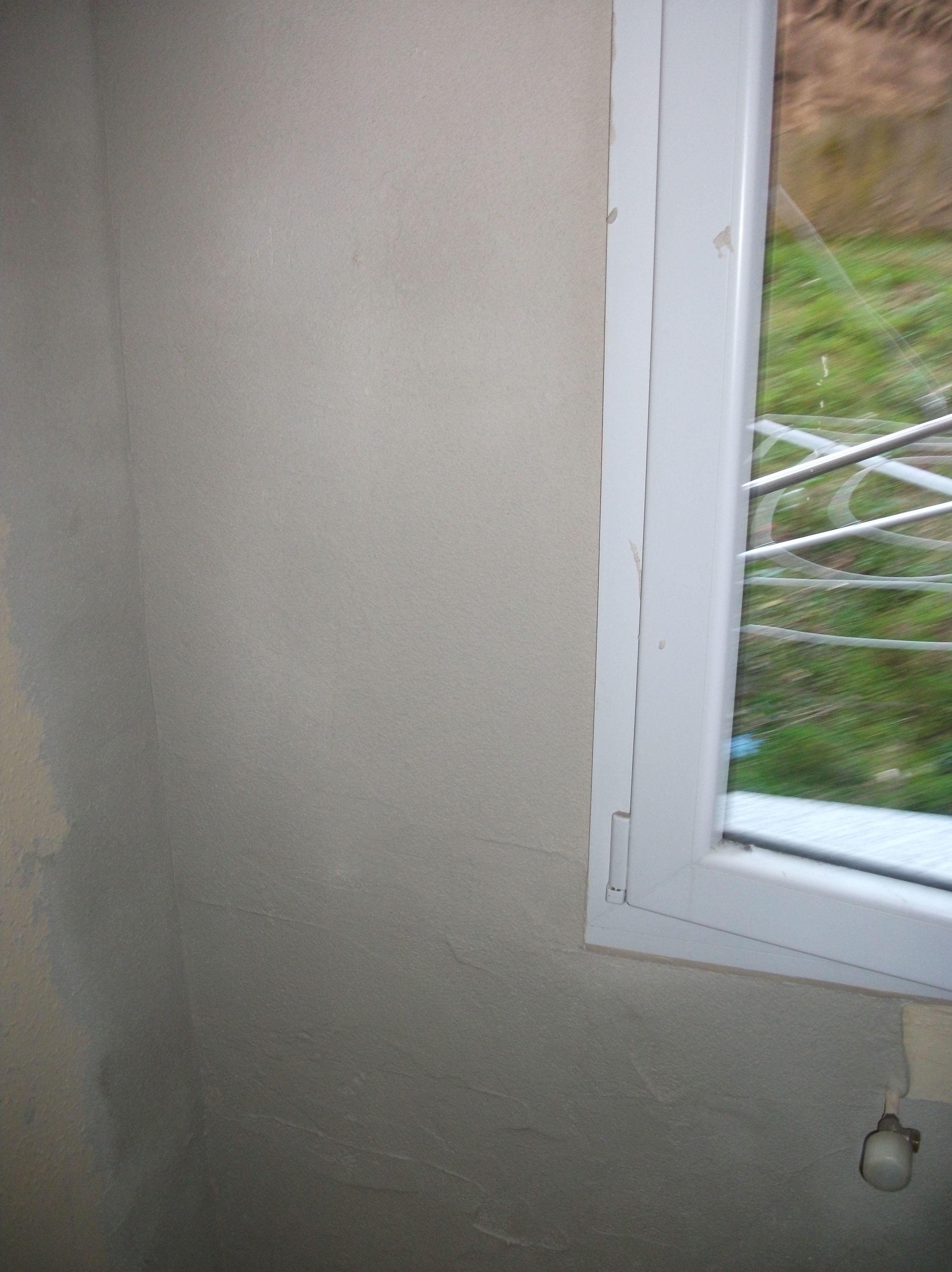 Eliminación de moho en pared