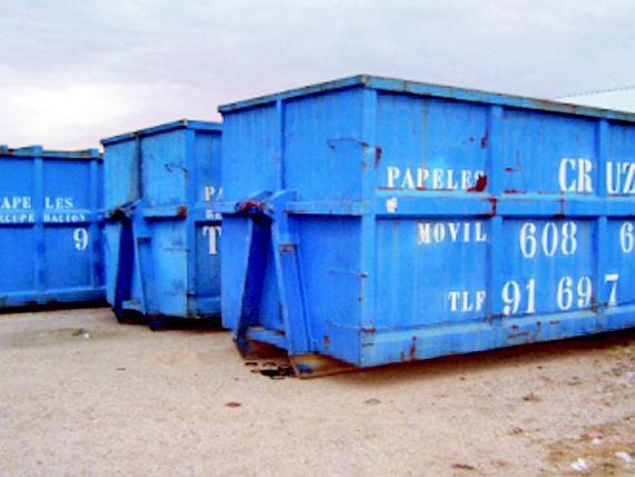 Foto 17 de Recuperación de papel y cartón en Fuenlabrada | Papeles Cruz, S.A.