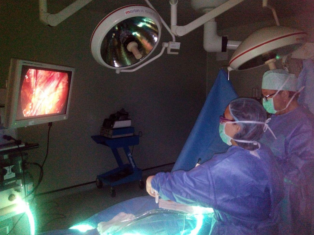 Hernia inguinal por laparoscopia