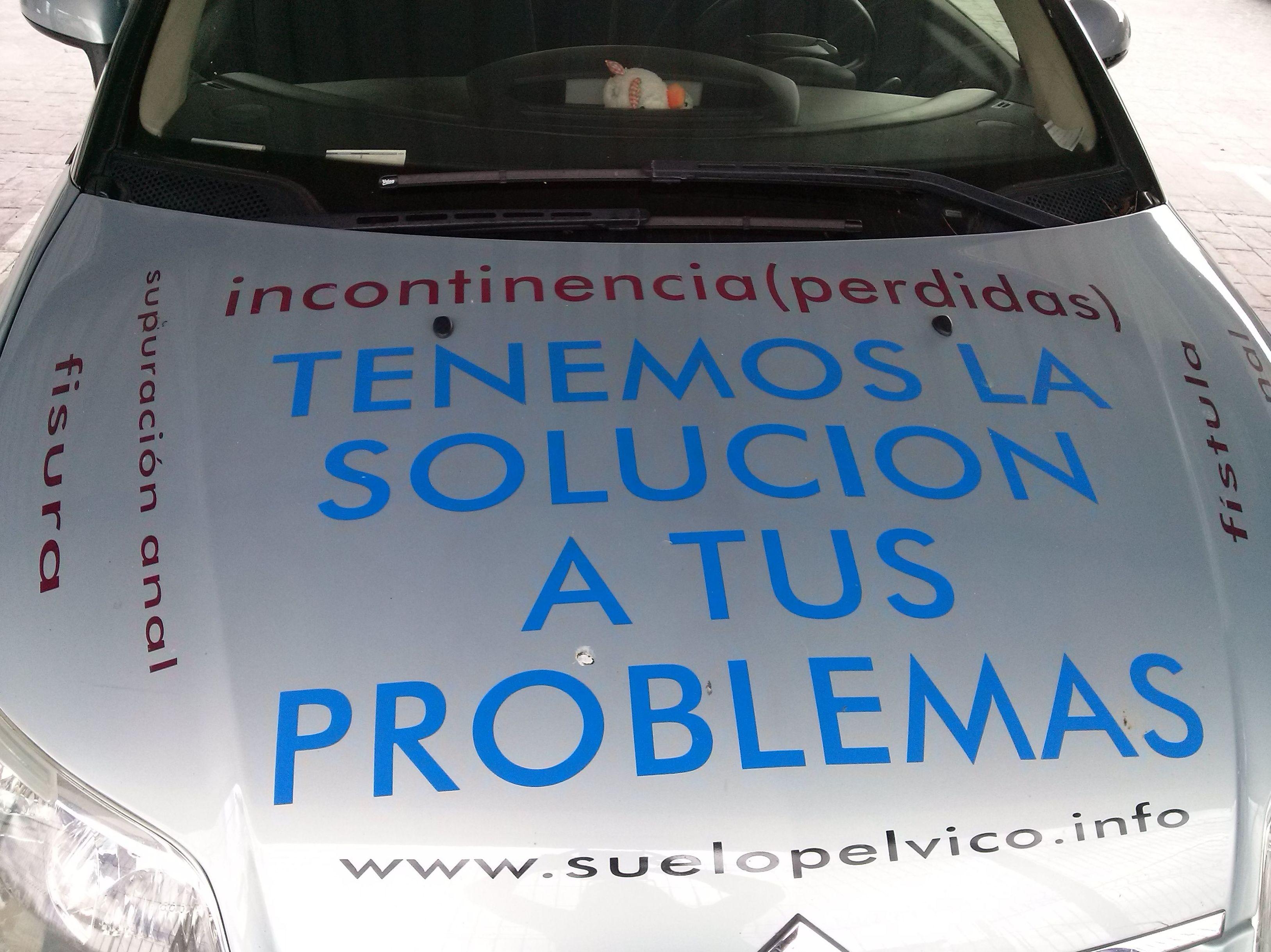 Solucionamos tus problemas de incontinencia