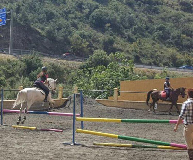 Clases de salto en Málaga