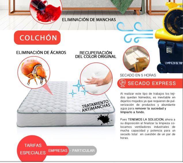 Limpieza y desinfección de tus colchones: Servicios de Primera Imagen Limpiezas