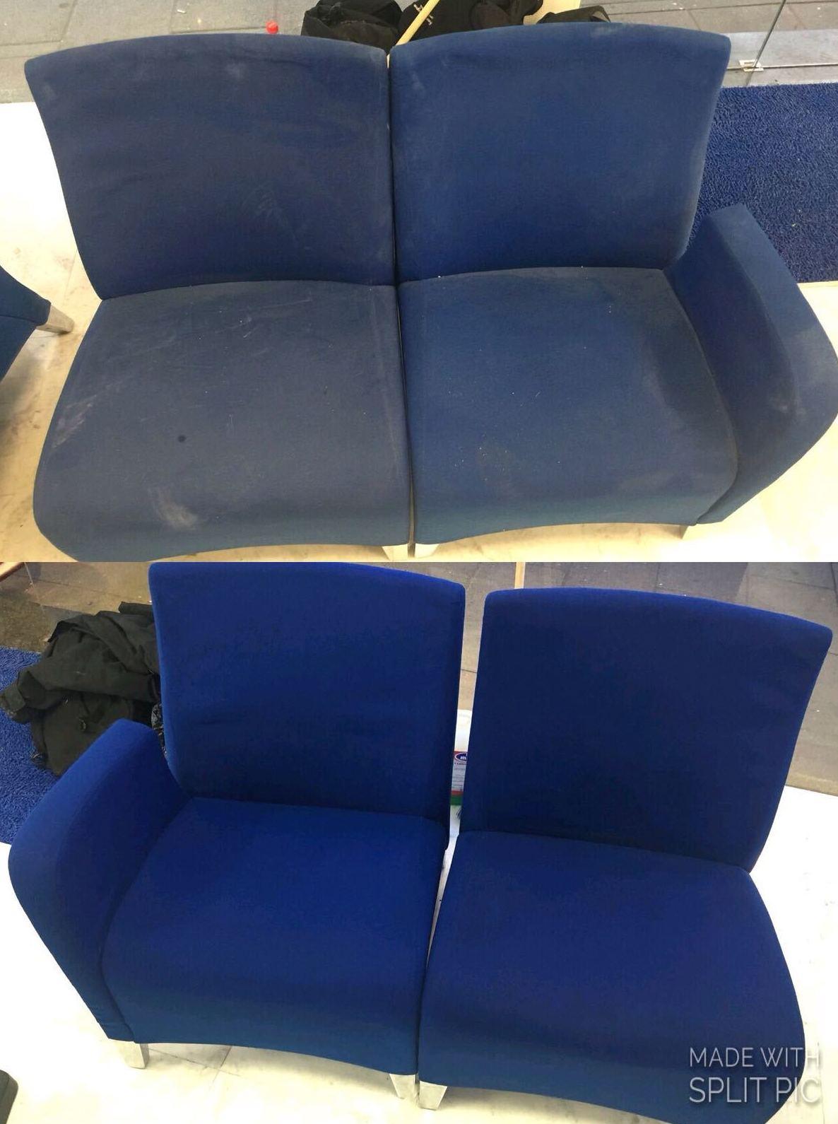 Limpieza y desinfección de sofa,sillas,sillones,butacas,paredes enteladas..: Servicios de Primera Imagen Limpiezas
