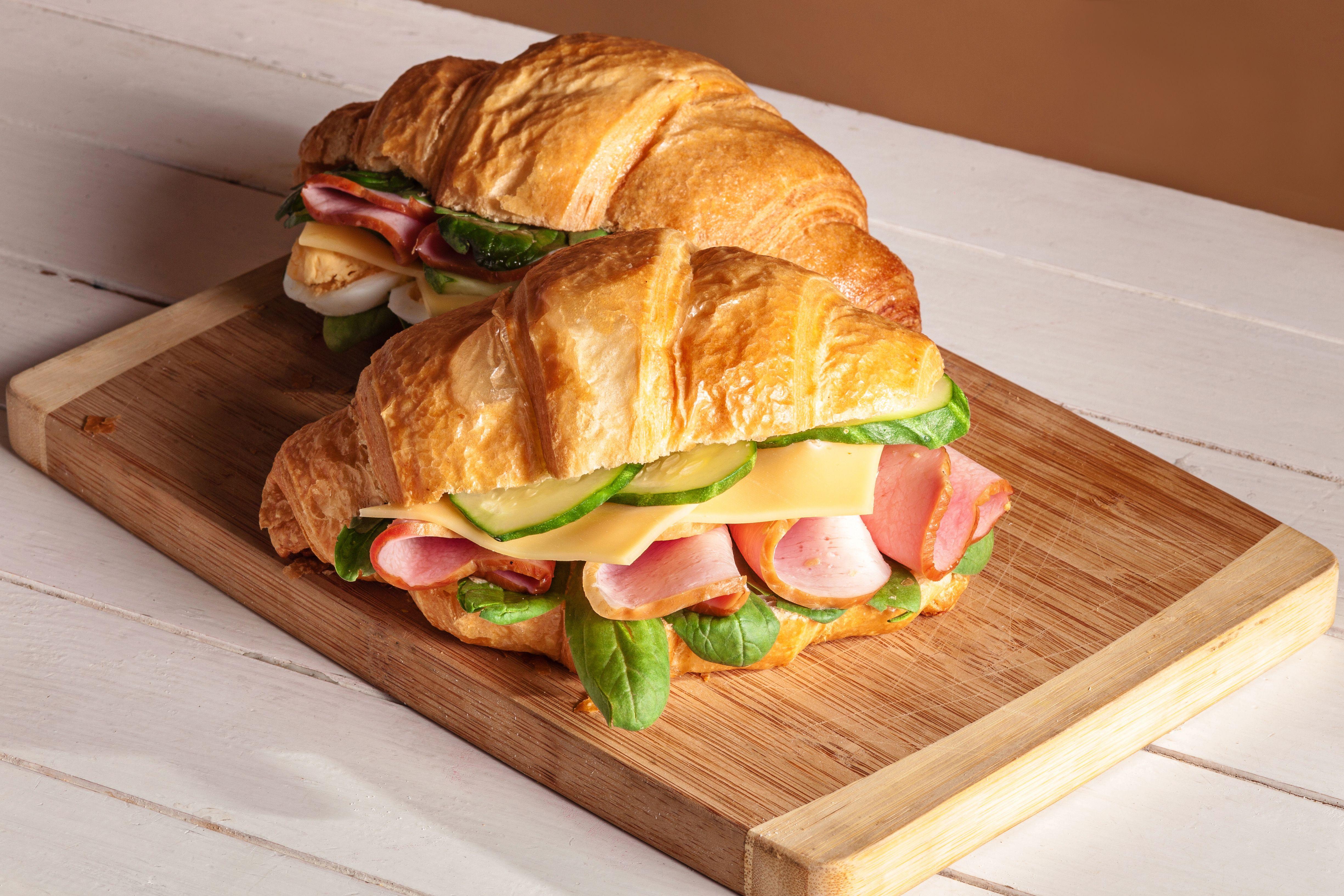 Croissants: Carta de Cafetería Bar Iberia