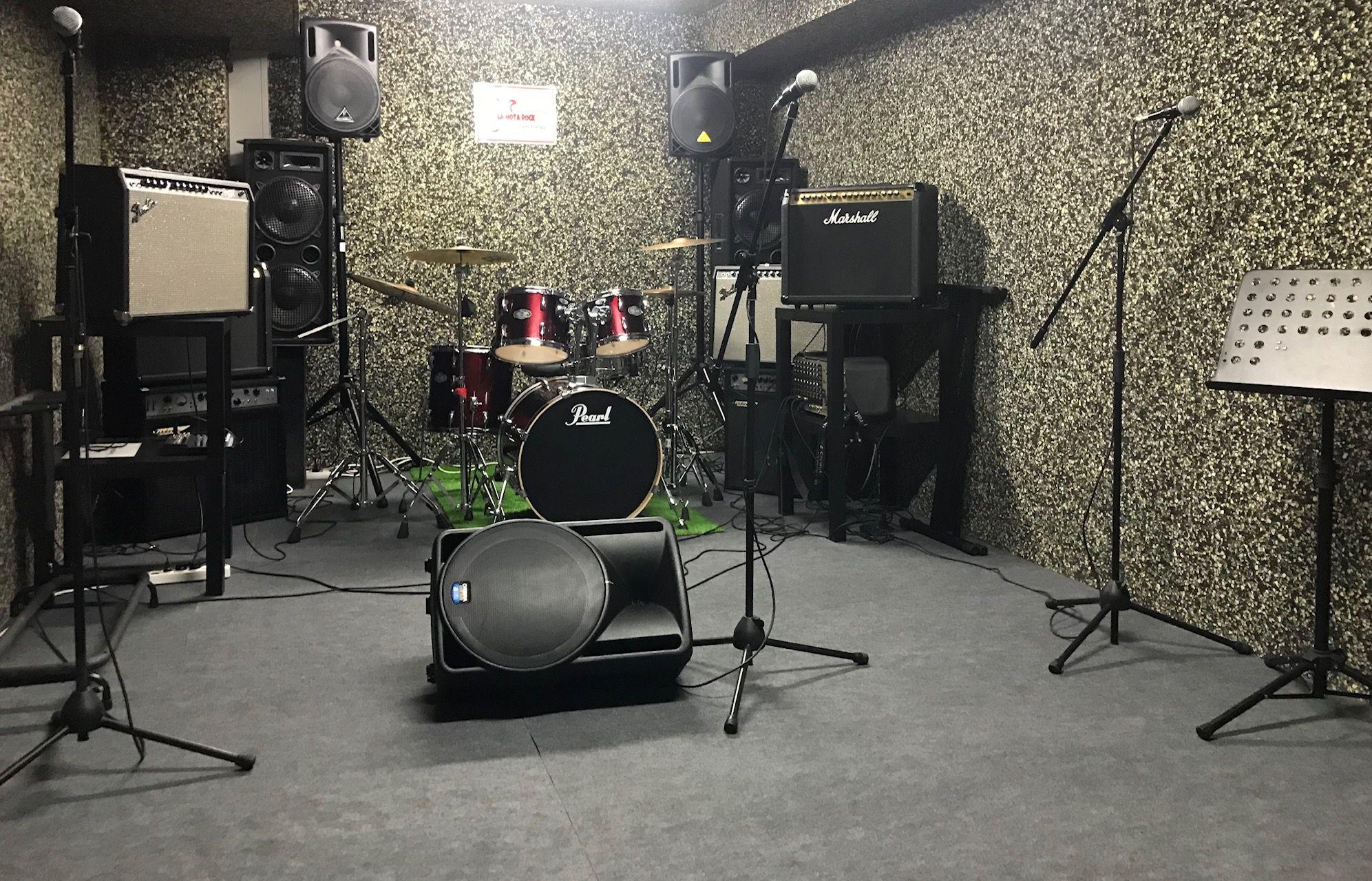 Locales de ensayo interior La Nota Rock