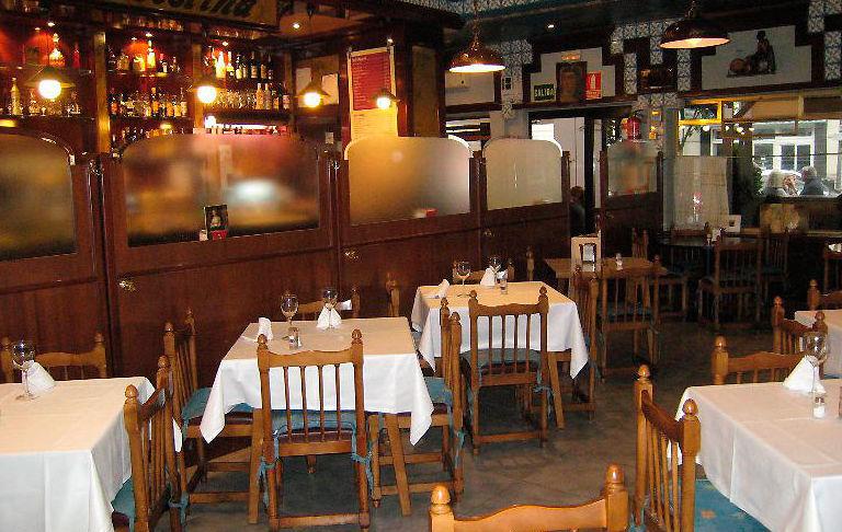 Restaurante de cocina castellana en el barrio de Salamanca