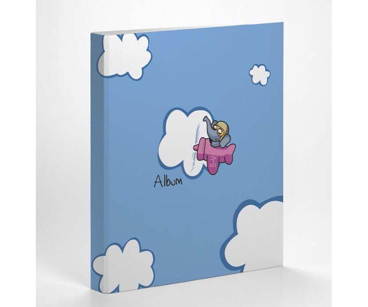 Álbum Infantil Avión - Elefante