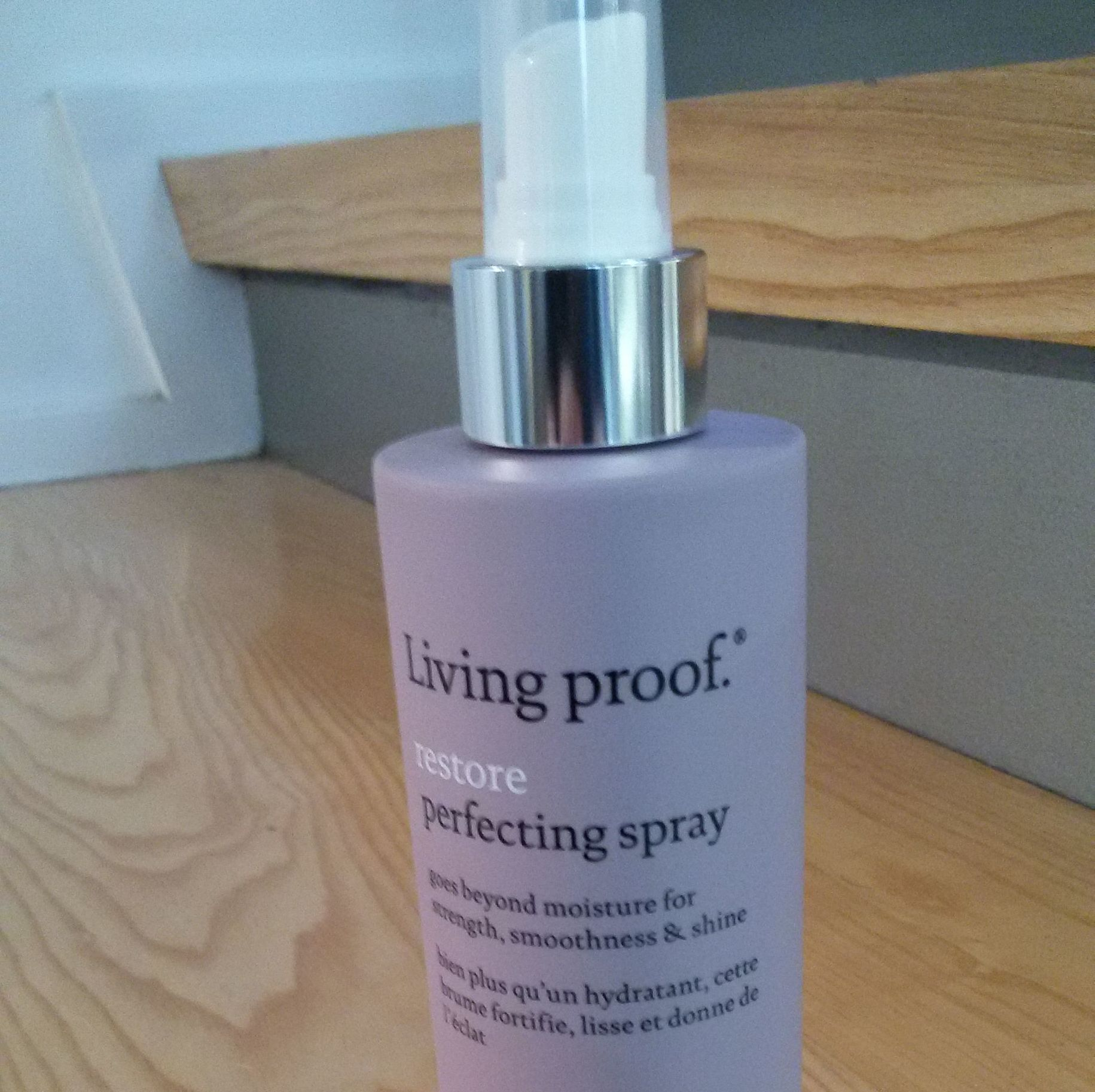 Perfecting spray