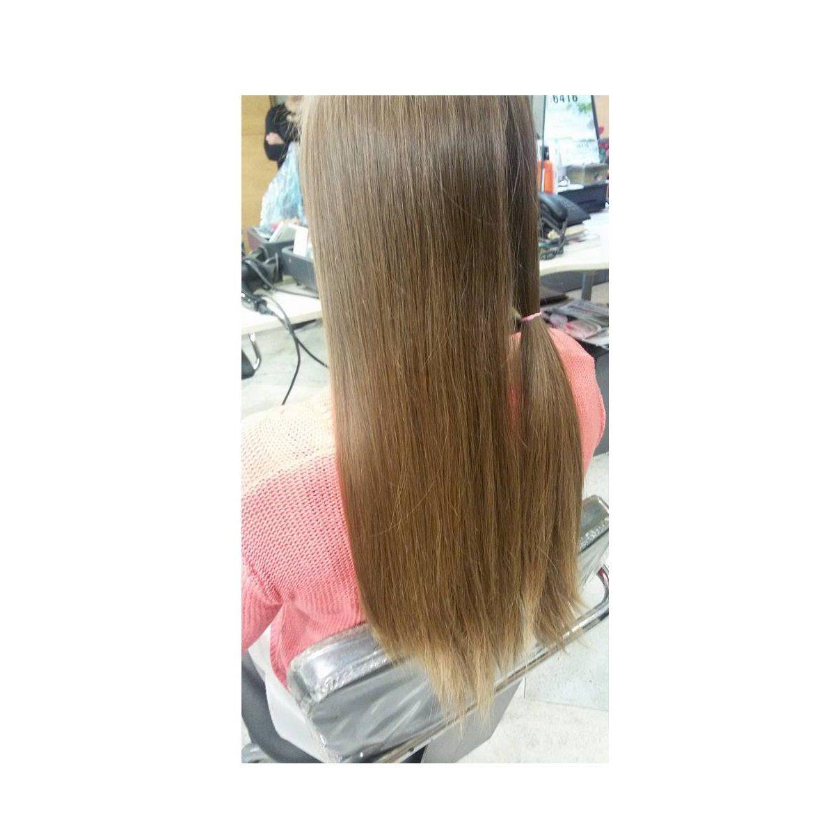Microlíneas de cabello natural